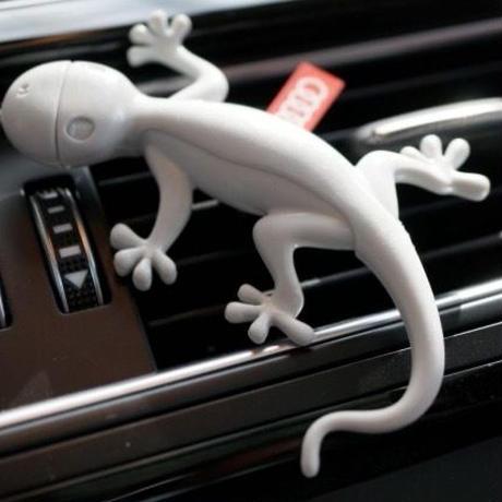 Audi Gecko エアフレッシュナー ライトグレー