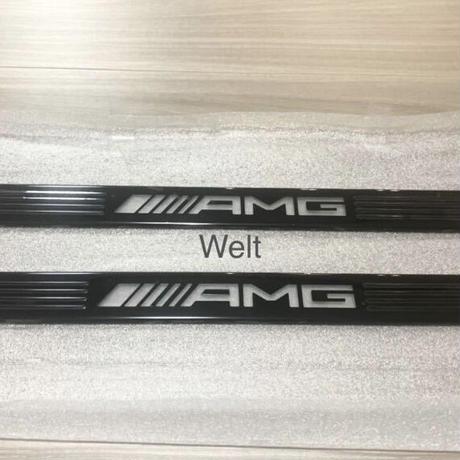 Mercedes-Benz  純正品 AMG LED イルミネーションドアシルパネル用 交換カバー W177 V177  C118  H247  X247