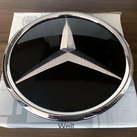 Mercedes-Benz 純正品 スリーポインテッドスター グリルエンブレム