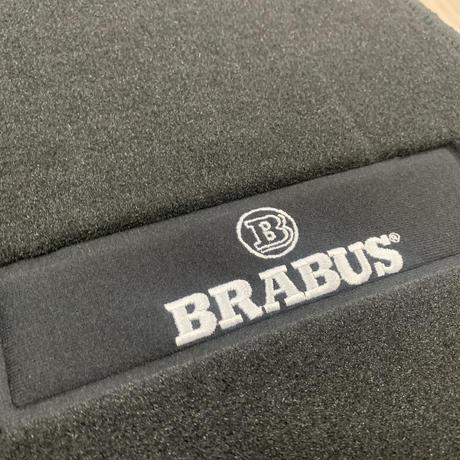 smart BRABUS 純正品 スマート fortwo 450 左ハンドル用 フロアマットセット