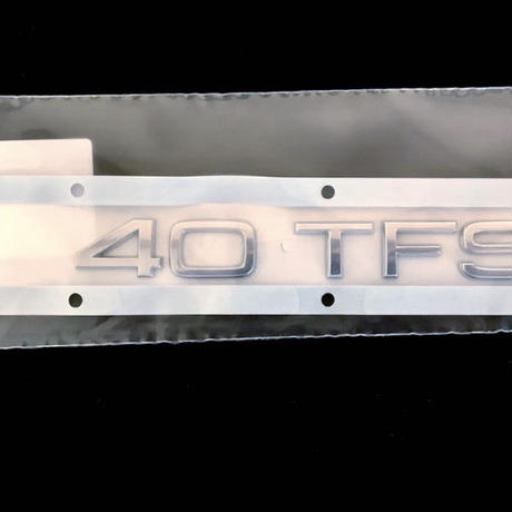 Audi 純正品 40 TFSI リア エンブレム