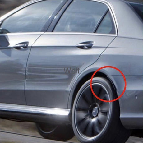 Mercedes-Benz 純正品 W212 S212 リア オーバーフェンダー (フェンダーアーチカバー)