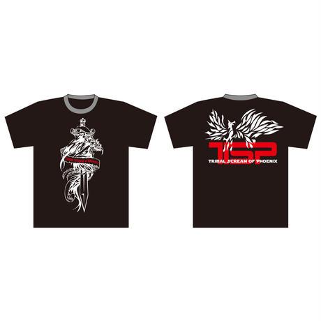 TSP/フェニックスTシャツ(ホワイト・ロゴ)