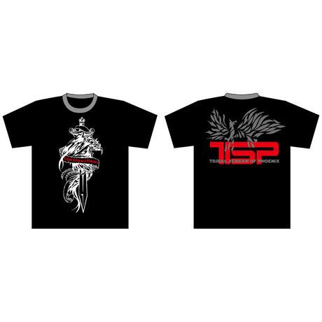 TSP/フェニックスTシャツ(シルバー・ロゴ)