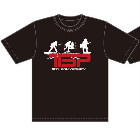 TSP/10thアニヴァーサリーTシャツ(ホワイト・ロゴ)