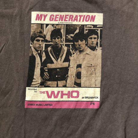 The WHO  faded t shirt