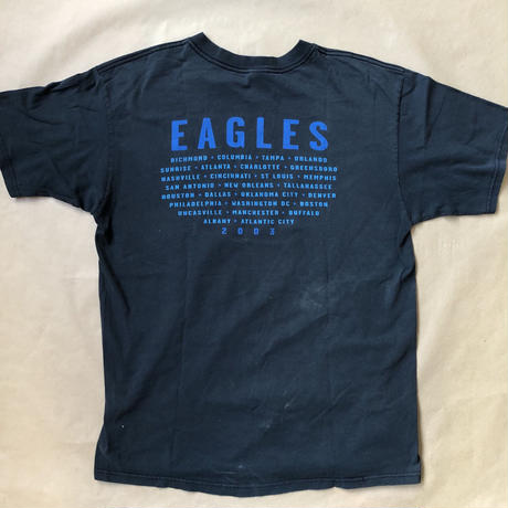 EAGLES 03' tour t  T  shirt