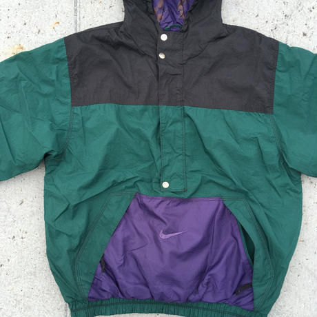 NIKE  90's pull over nylon jacket