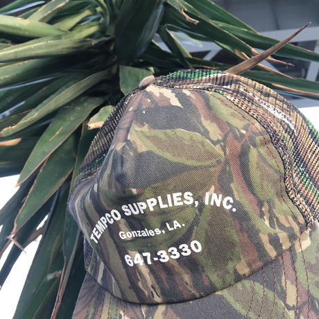 Realtree camouflage mesh cap