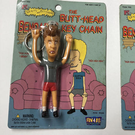 Beavis & Butthead key chain