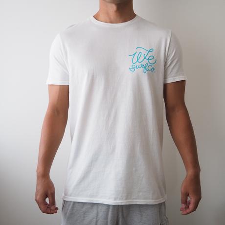 オリジナル メンズ ロゴTシャツ(シンプル波)