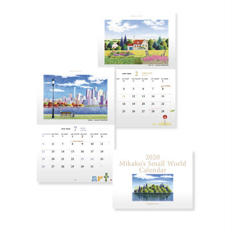 2020 Mikako's Small World Calendar 4冊