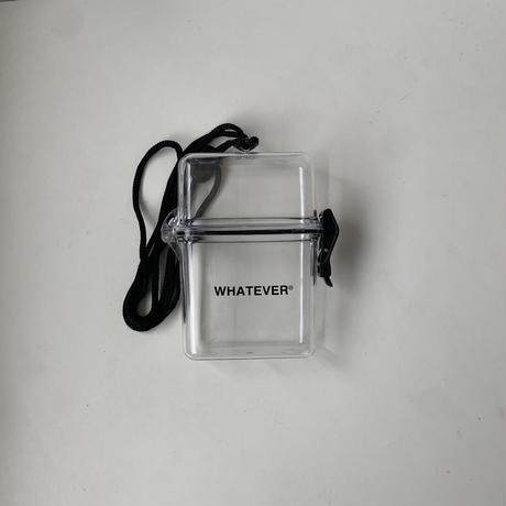 """""""WHATEVER 2nd anniversary"""" original cigarette case"""