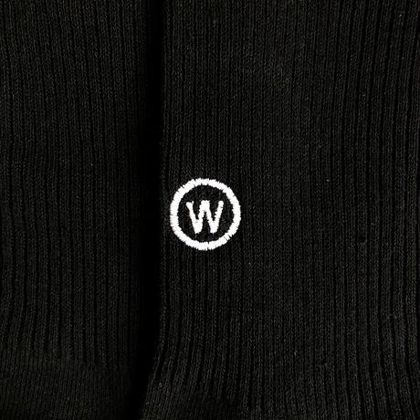 """Socks - free size """"W mark"""""""