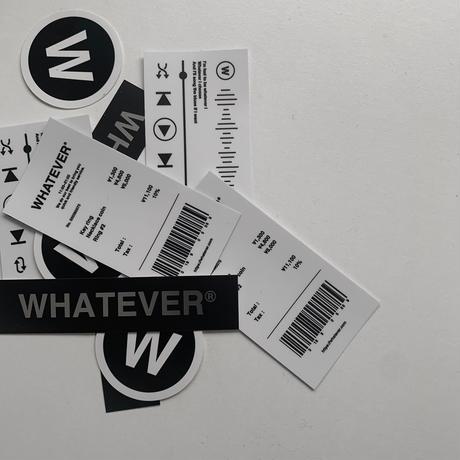"""Sticker """"W"""" set"""