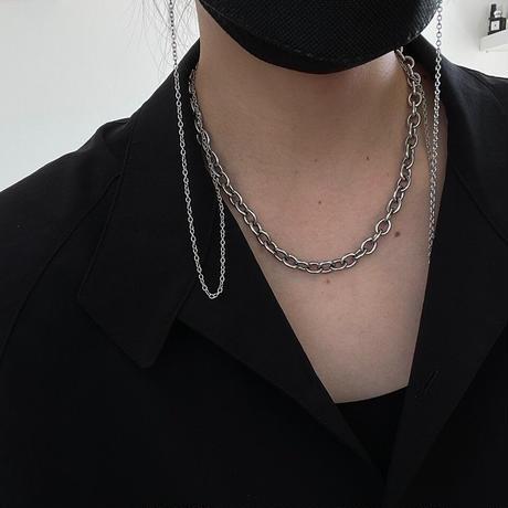 【New】Long mask & Glasses chain