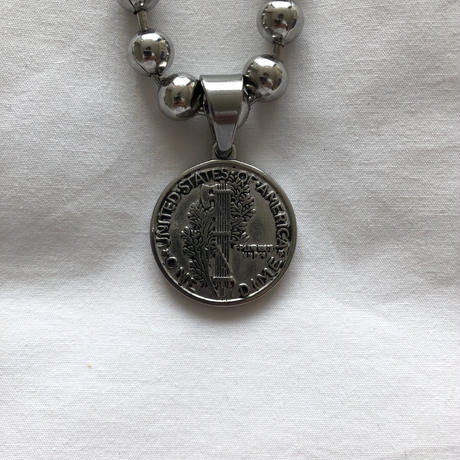 "SUS necklace ""coin of US"""