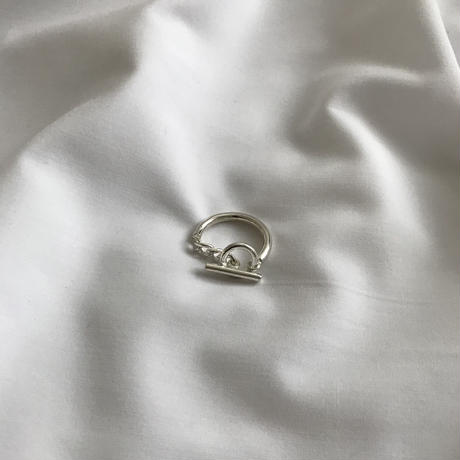 """silver925 ring """"chain"""""""