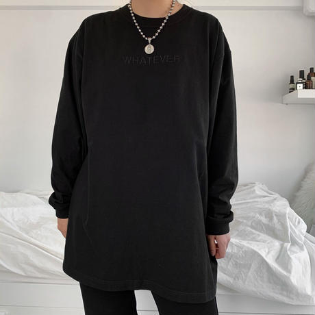 Long T-shirts  - embroidery logo
