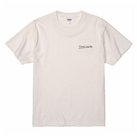 WHATTS INSPIRIT オリジナルフォトTシャツ/オレンジ