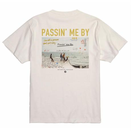 WHATTS INSPIRIT オリジナルフォトTシャツ/イエロー