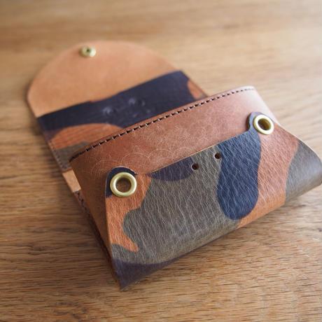 『イレかえる』カエルのカードケース ベルツノ×ブラウン