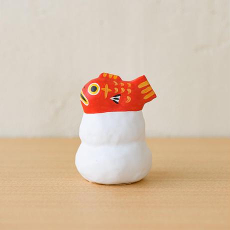 張子 鏡餅鯛