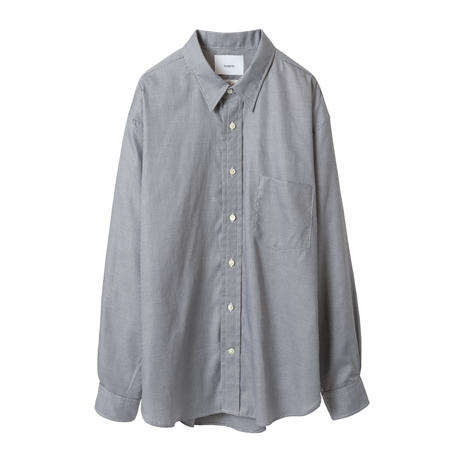"nuterm / ""Mark"" Regular Collar Shirt"