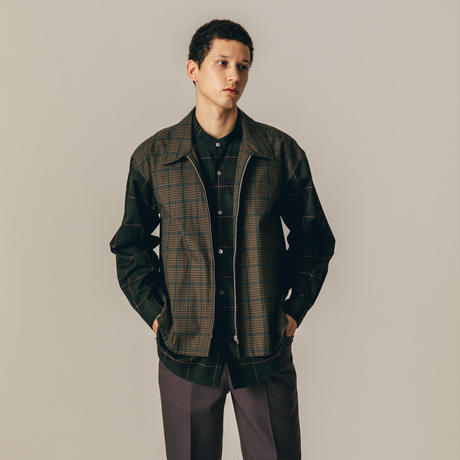 nuterm / Layered Shirts Jacket