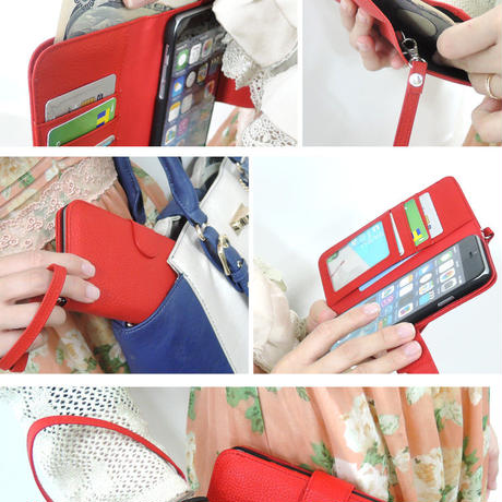 6eac7f6116 ... スマホケース iPhoneケース 手帳型 全機種対応 ウォレット スマートフォン ...