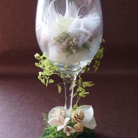glassFlour white   (グラスフラワー ホワイト)