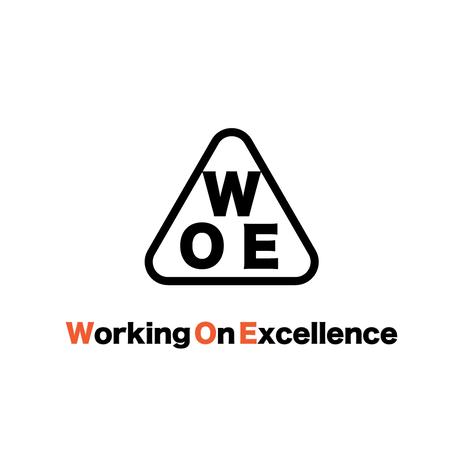 W.O.E '3' dry white T-Shirt