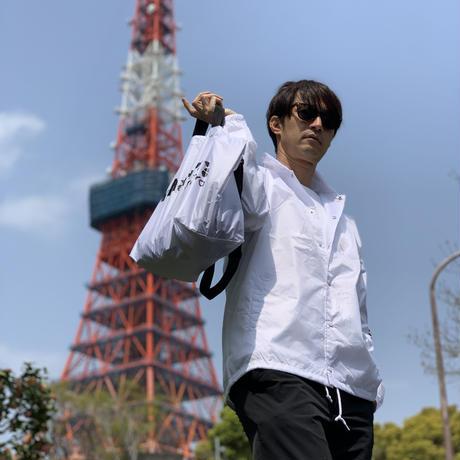What's .TOKYO コーチブルゾン(ホワイト×ブラック)