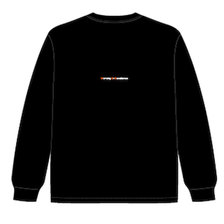 W.O.E '3' dry black longT-Shirt