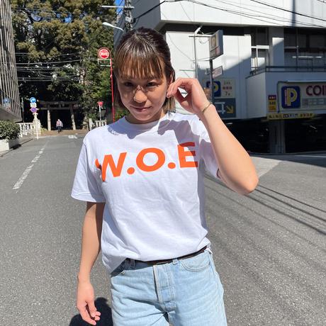 W.O.E BASIC white T-Shirt