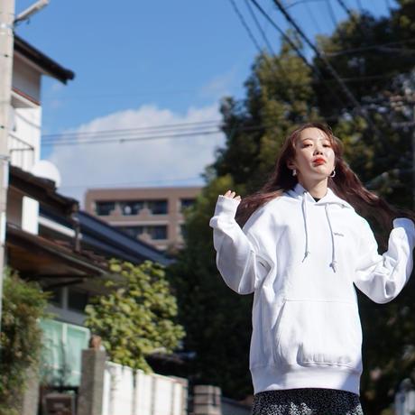 【再入荷】WOMEN LOGO PARKER / WHITE MINT