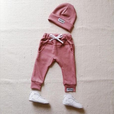 Lac Rose make you walk pants&beanie sets (ラック・ローズパンツ&ビーニーセット)