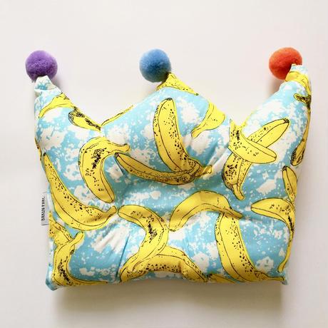 Crown baby pillow (Banana) / ベビーピロー (バナナ)