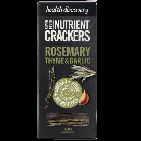 Rosemary & Thyme - ローズマリー&タイム&ガーリック (スパイス&ハーブスナック - 150g)