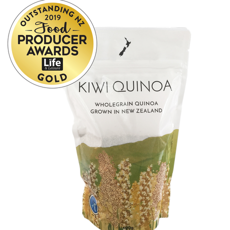 Kiwi Quinoa - キウイキヌア(NZ産全粒キヌア)400g