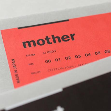 白Tee /【mother】CREW NECK T D.C.O.G - UNISEX