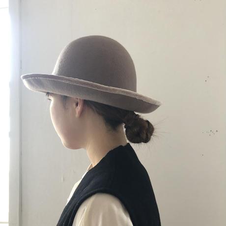 soft wool round hat