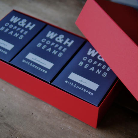W&H COFFEE / GIFT SET  (SET OF 3)