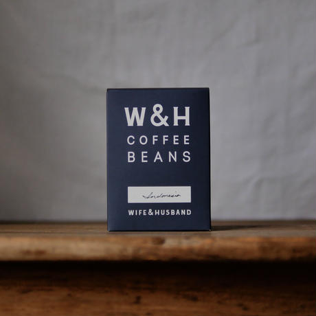 W&H COFFEE / INDONESIA  200g