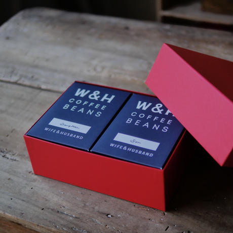 W&H COFFEE / GIFT SET  (SET OF 2)