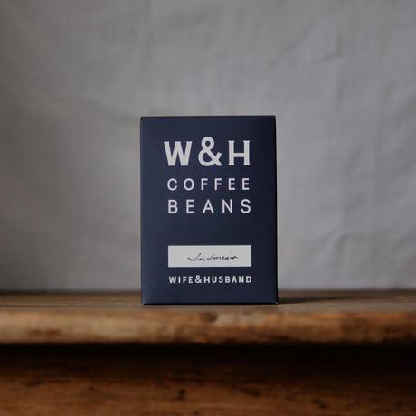 W&H COFFEE / INDONESIA マンデリン 200g