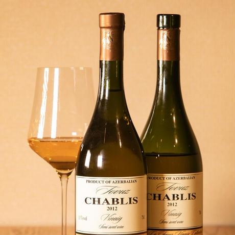 "TOVUZ 白ワイン White Grape semi sweet wine ""Chablis"