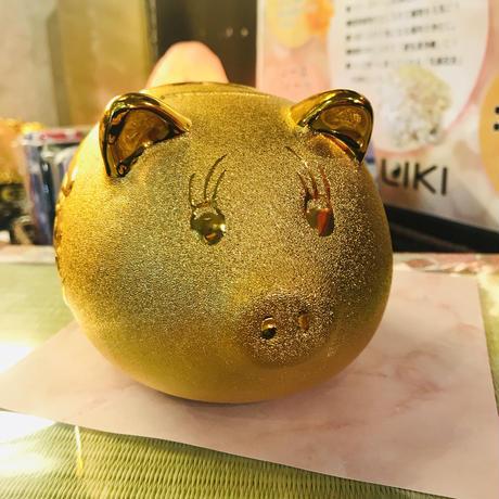金豚の貯金箱(大)