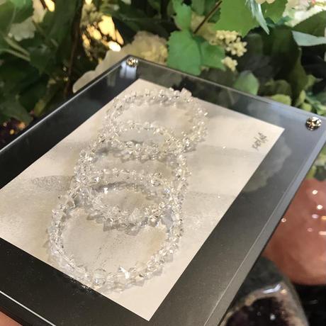 ハーキマーダイヤ ブレスレット