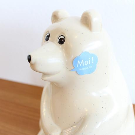 Polar Bear Money Box マフラー付き